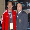 Junto al Campeón Mundial de Kata. Akio Tamashiro (Peru)