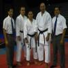 Senseis. Martin Materano, Luis Leal, Edgar Albakian y Yovany Aguero.